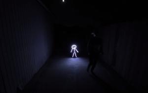Photographer Creates Real-Life Stick Figure Costumes Using LED Lights