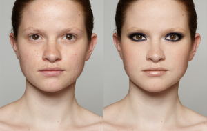Amazing Digital Makeup Transformation by Master Retoucher Katja de Bruijn