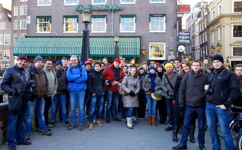 Amsterdam Photowalk Photographers Group Photo