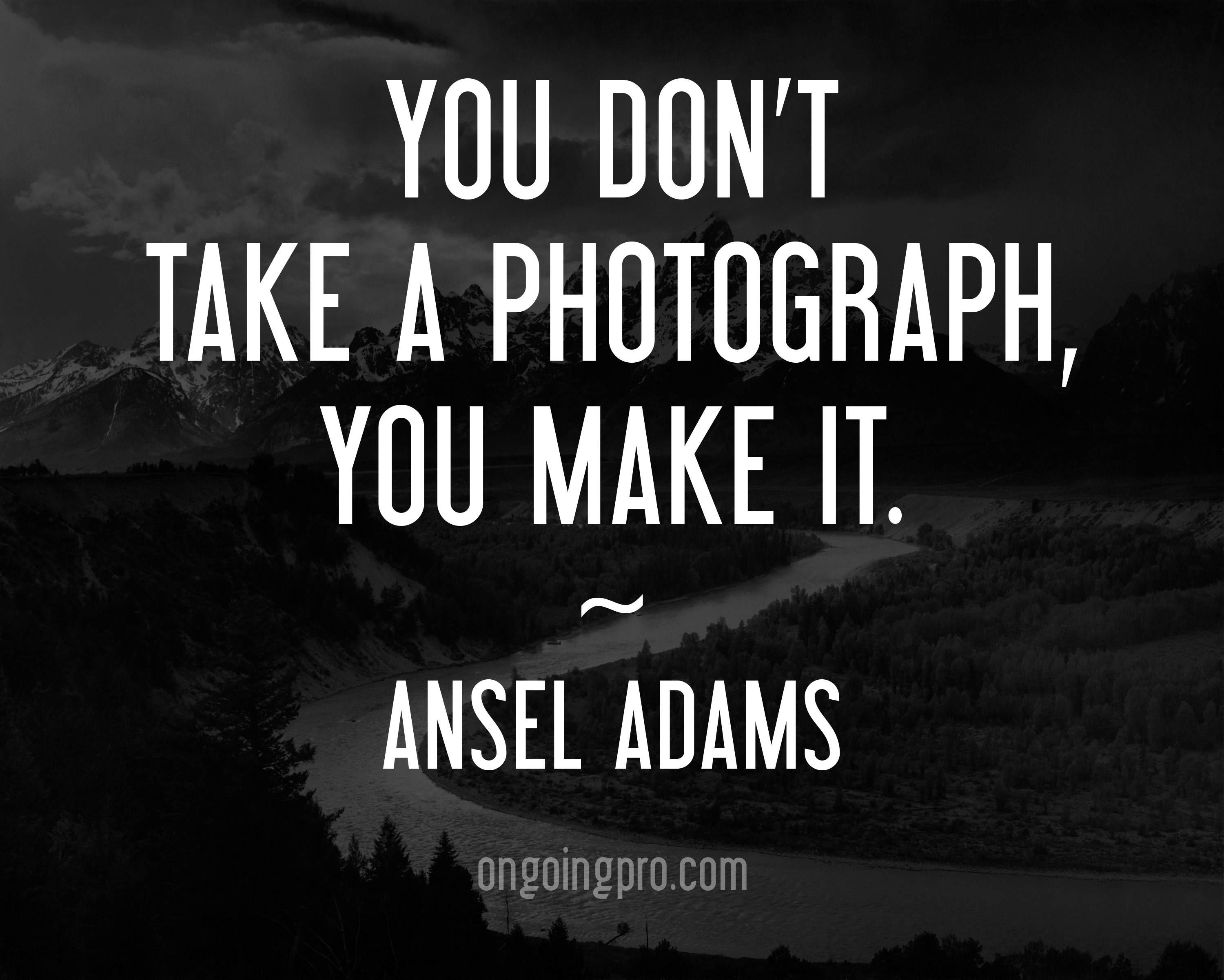 Ansel adams famous photographers quotes
